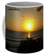 Sunset At Kuta Beach Coffee Mug