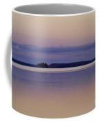 Sunset At Lake Muojaervi Coffee Mug