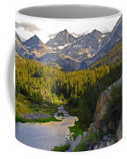 Sunset At Mack Lake Coffee Mug