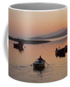 Sunset At Rosdohan Pier Near Sneem Coffee Mug