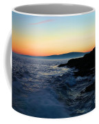 Sunset At Schoodic Coffee Mug