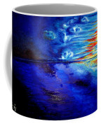 Sunset At Sea By Ted Jec. Coffee Mug