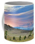 Sunset At The Colorado High Park Wildfire  Coffee Mug