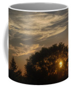 Sunset At The Oasis Coffee Mug by Joan Carroll