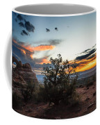 Sunset At Turrent Arch Coffee Mug