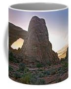 Sunset At Turret Arch Coffee Mug