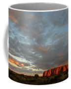 Sunset At Uluru Coffee Mug