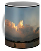 Sunset Clouds Over The Bay Coffee Mug