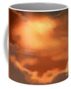 Sunset Clouds Coffee Mug by Pixel Chimp