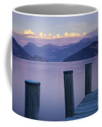 Sunset Dock Coffee Mug