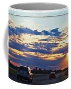 Sunset Drive Coffee Mug