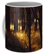 Sunset Falls Over Seeding Grasses Coffee Mug by Jason Edwards