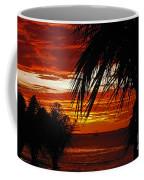 Sunset In Cancun Coffee Mug