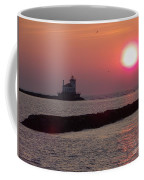 Sunset In New York Coffee Mug