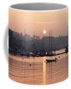 Sunset In The Harbor Crosshaven County Coffee Mug