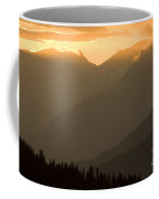 Sunset In The Mountains Coffee Mug