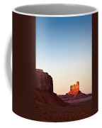 Sunset In The Valley Coffee Mug by Dave Bowman