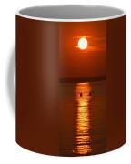 Sunset Kayakers Coffee Mug