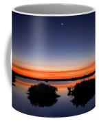 Sunset Moon Venus Coffee Mug