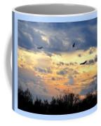 Sunset Of The Hawks Coffee Mug