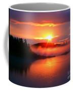 Sunset On Campobello Island  Coffee Mug