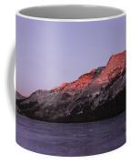 Sunset On Frozen Tenaya Lake Coffee Mug