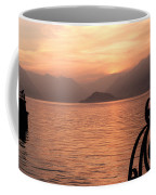 Sunset On Lake Como Coffee Mug