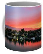 Sunset On Lake Havasu Coffee Mug