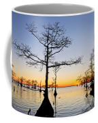 Sunset On Lake Mattamuskeet Coffee Mug