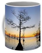 Sunset On Lake Mattamuskeet Coffee Mug