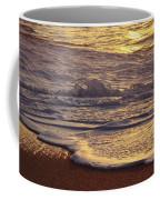 Sunset On Small Wave Coffee Mug