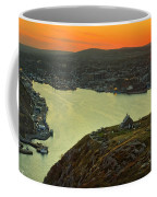Sunset On St. John's Harbour Coffee Mug
