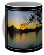 Sunset On The Dock Coffee Mug