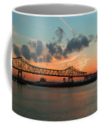Sunset On The Mississippi  Coffee Mug