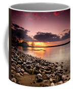 Sunset On The Rocks Coffee Mug