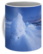 Sunset On The Summit Toviktinden Coffee Mug by Arild Heitmann