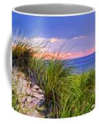 Sunset On Wellfleet Dunes Coffee Mug