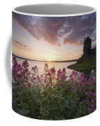 Sunset Over Dunguaire Castle, Kinvara Coffee Mug
