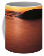 Sunset Over Dunmore Head Coffee Mug