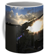 Sunset Over Long Beach Coffee Mug