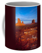 Sunset Over Monument Valley Coffee Mug