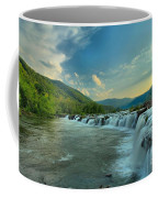 Sunset Over Sandstone Coffee Mug