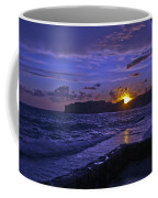 Sunset Over The Adriatic Coffee Mug