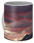 Sunset Over The Colorado Rocky Mountain Continental Divide Coffee Mug