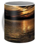 Sunset Over The Lake - 3rd Place Win Coffee Mug
