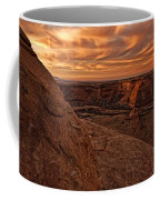 Sunset Over The Rim Of Canyon De Coffee Mug