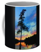 Sunset Over The Suwanee Mosaic Coffee Mug