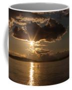 Sunset Paddleboarder Coffee Mug