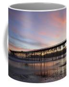 Sunset Pier San Simeon California 1 Coffee Mug
