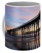 Sunset Pier San Simeon California 2 Coffee Mug